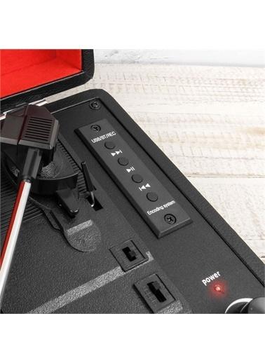 Bludfire BF 4340 Bluetooth Radyolu Plak Çalar Siyah
